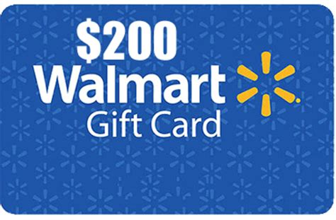 200 Gift Card - free 200 walmart gift card gift cards listia com auctions for free stuff