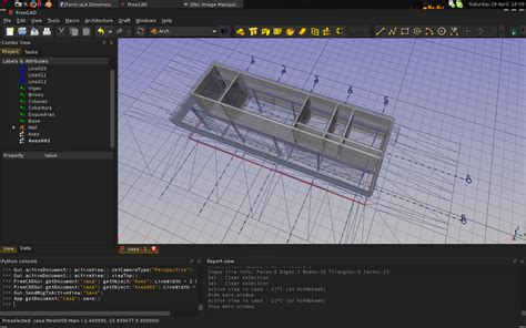 Complete House Plans Freecad 0 13 Released With Better Drafting Arch And Part