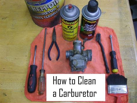 how to clean up the back of a deco mesh wreath cleaning a carburetor in 8 easy steps