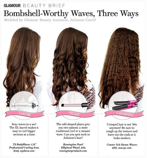 different styles or ways to fix human hair hair how to bombshell worthy waves three ways the