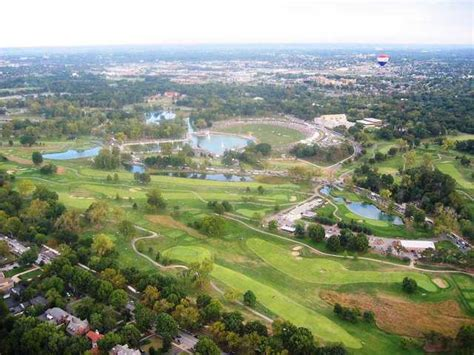 To St Forest by Forest Park St Louis Aerial Www Pixshark Images