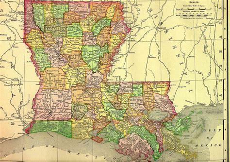 louisiana map directions maps