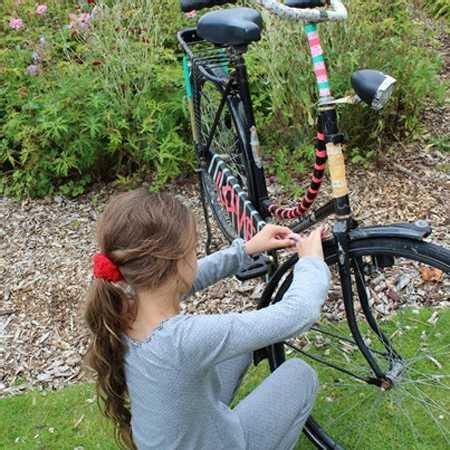 colorful decorating ideas  bike frames crafts  kids