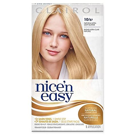 buy clairol nice n easy hair colour burgundy 113 1pk online at buy clairol 174 nice n easy permanent hair color 10 87 ultra