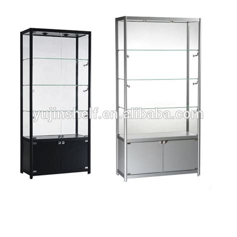 glass display cabinet the design tabloid showroom aluminium glass showcase design modern glass