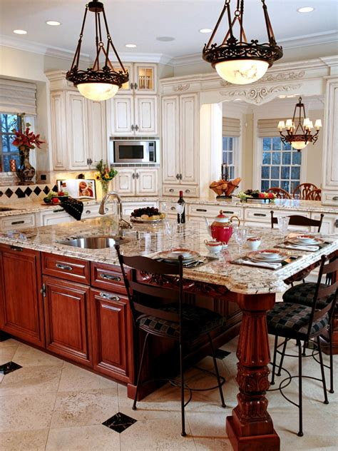traditional kitchen island guide to creating a traditional kitchen hgtv