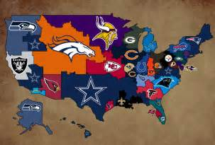 Nfl Team Map Of The United States by Florida College Football Teams Viewing Gallery
