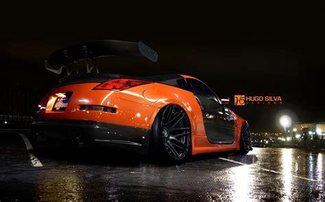 nissan 350z wallpaper orange nissan 350z wallpaper hd car wallpapers
