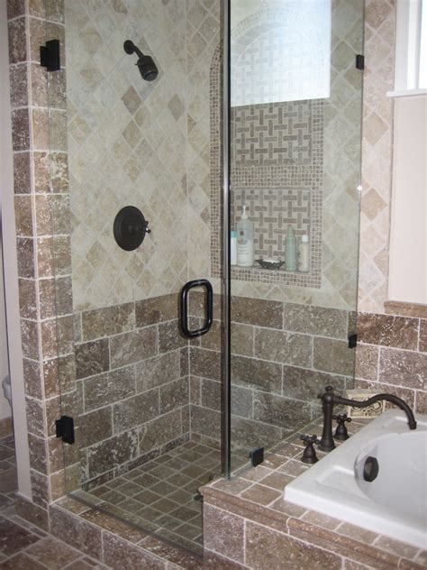 shower next to bath impressive kohler devonshire in bathroom modern with