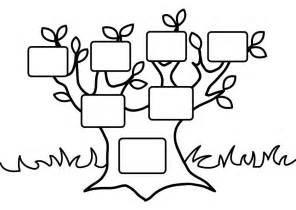 family tree coloring az coloring pages