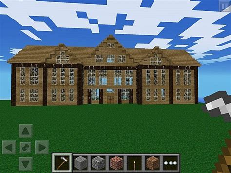 build a mansion mcpe let s build 6 massive mansion minecraft project