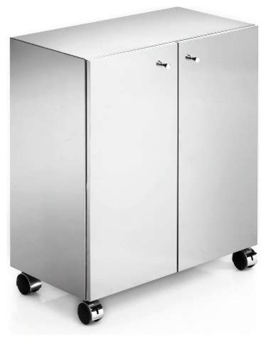 Ws Bath Collections Runner Cabinet On Wheels