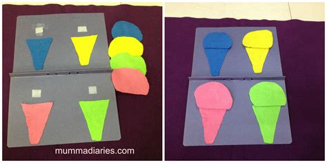 color crafts for 8 ways to teach toddlers about shape and color