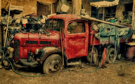 old vintage images old vintage coca cola truck mixed media by design turnpike
