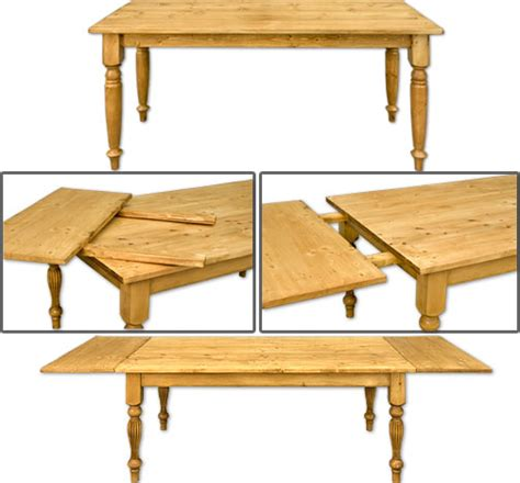 farmhouse table with extensions wood work farmhouse table plans with extensions pdf plans