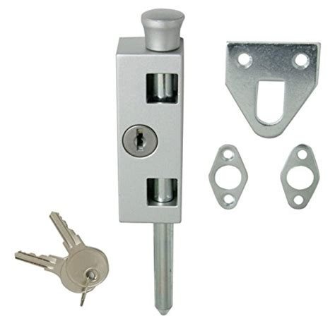 Sliding Door And Window Lock Aluminum Patio Door Lock Keyed Patio Door Lock