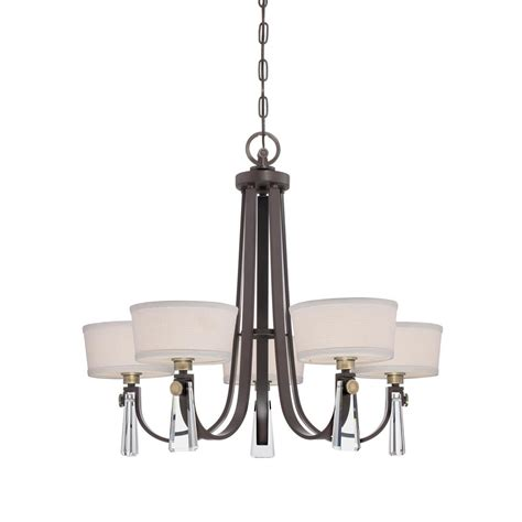 Western Chandelier Upby5005wt Quoizel Lighting Upby5005wt Uptown Bowery