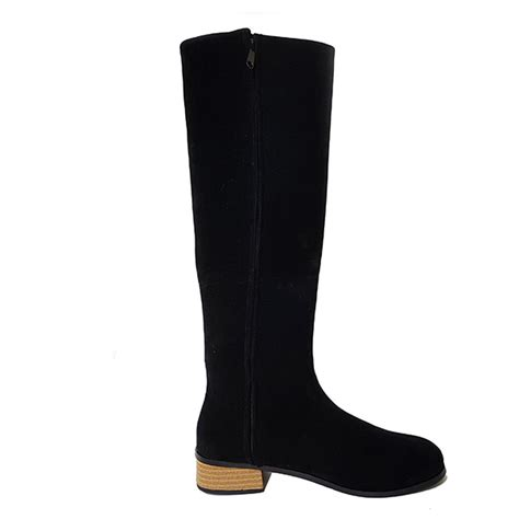 Sepatu Boot Hitam Panjang Mitzuno sepatu boots panjang hitam