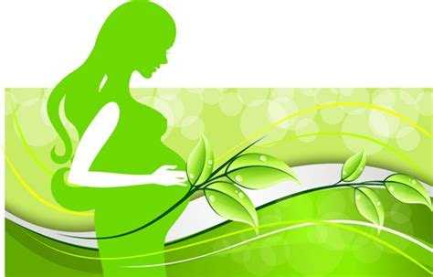 ppt templates for pregnancy free download pregnant woman with elegant background 01 vector