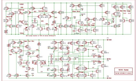 cmos layout design jobs figure 5 schematic of the op of the final project