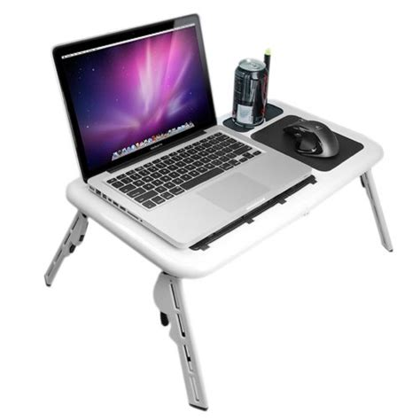Laptop Tray by Portable Laptop Tray Tables Adjustable Bed Desk Caddy