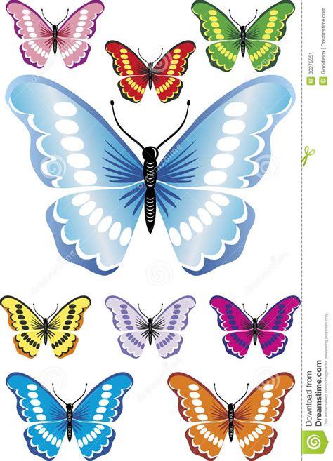 imagenes de mariposas hermosas animadas 9 beautiful butterflies with difrent colors and gradients