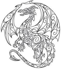abstract dragon coloring page wolf abstract doodle zentangle coloring pages colouring