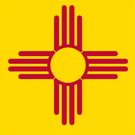 new mexico state colors new mexico state flag zia stencil sp stencils