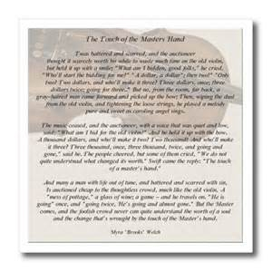 3drose ht 157881 3 the touch of the masters hand inspirational poem