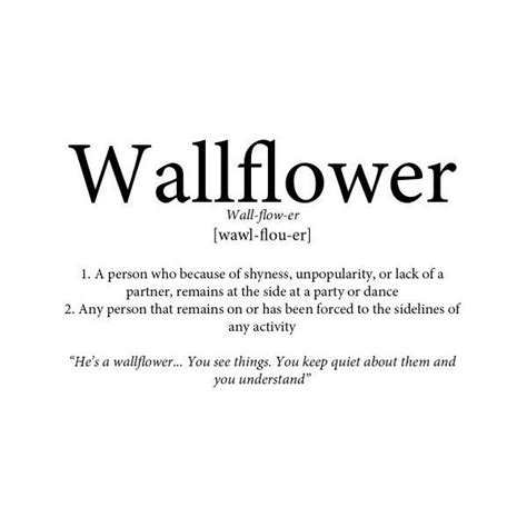 definition biography text 17 best wallflower quotes on pinterest the perks of