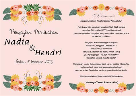Cara Nulis Lamaran Yang Di Lop Tujuan by The Wedding Of And Hendri 2013