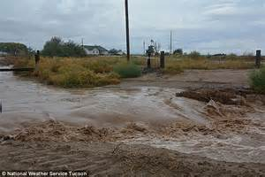 floods hit new mexico towns more storms eyed krqe news 13 odile s last licks streets turn to raging rivers and