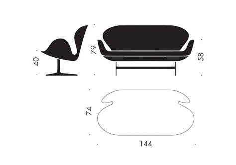 swan divani swan fritz hansen divano milia shop