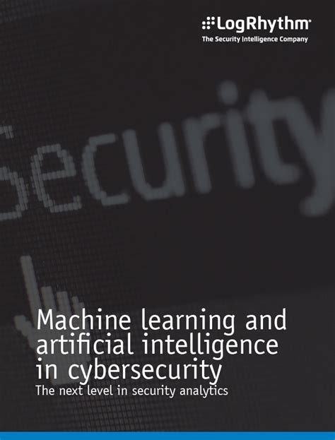 Distance Mba In Cyber Security by Machine Learning And Artificial Intelligence In