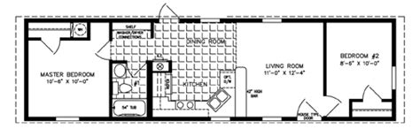 500 to 799 sq ft manufactured home floor plans jacobsen