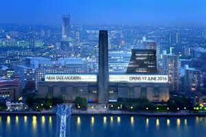 163 260m tate modern extension is finally set to open exhibitions going out evening