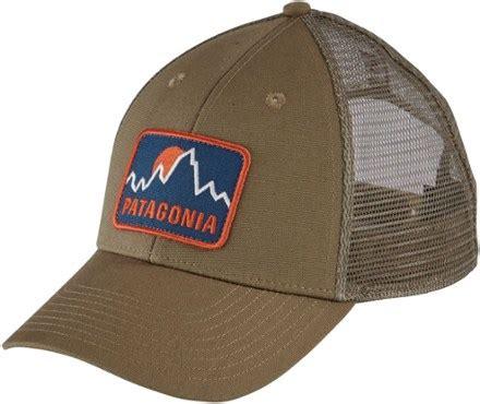patagonia firstlighters badge lopro trucker hat s