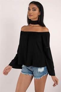 schwarze decke the shoulder tops crop tops sweaters more tobi