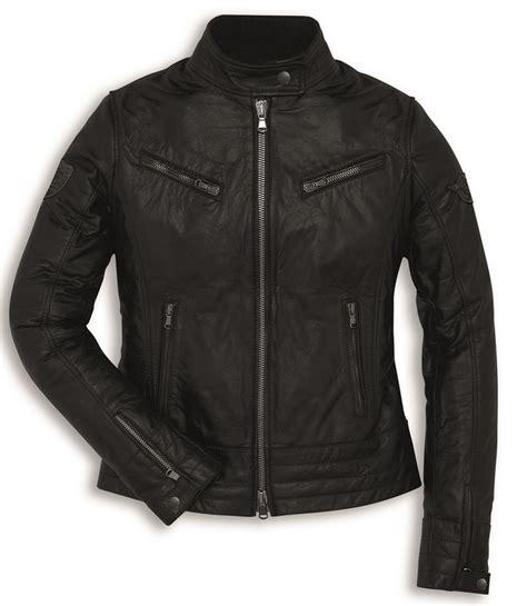 Ducati Motorrad Vintage by Ducati Vintage Women Motorcycle Leather Jacket In Black New