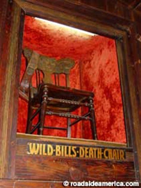 tomboy bill hickok s dead chair of bill hickok deadwood south dakota