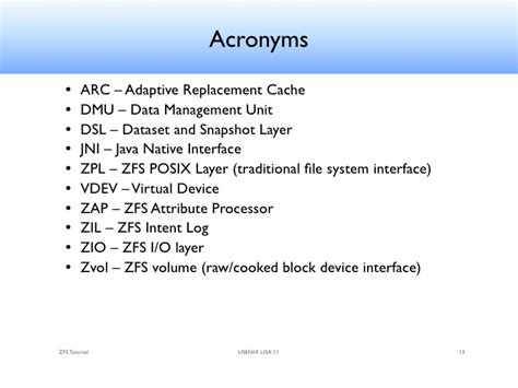 format zfs file system zfs tutorial lisa 2011