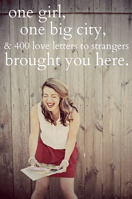 Letters To Strangers