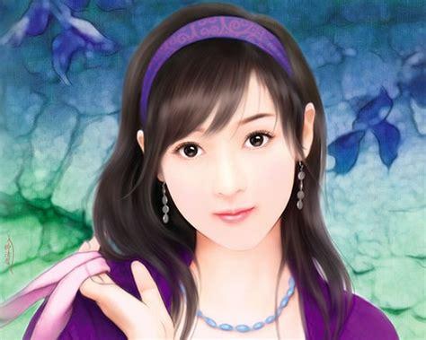 new chinese girls painting my dream girl chinese paintings my dream girls