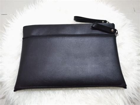 stylish pouch unisex pouch pria wanita tempat dokumen