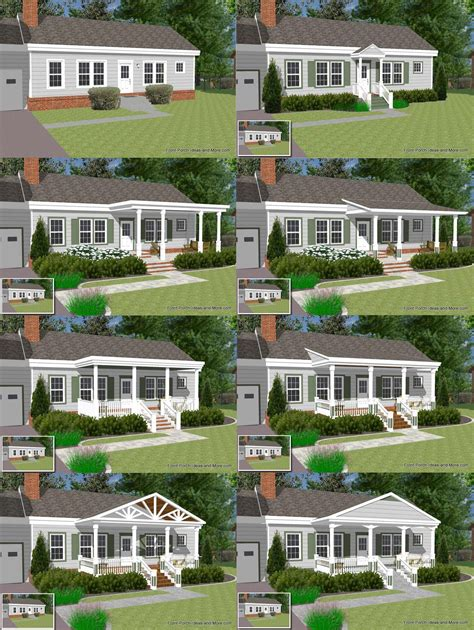 Ranch Designs great front porch designs illustrator on a basic ranch