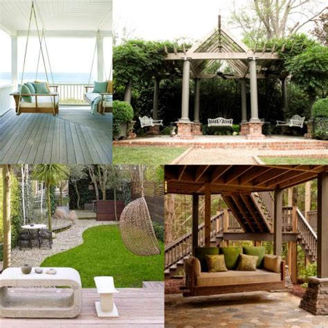 luxury porch swings exceptional spaces swings home infatuation blog