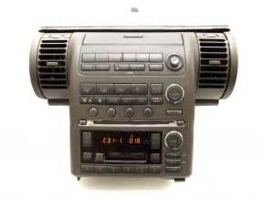 2003 Infiniti G35 Navigation System 2003 2004 Infiniti G35 Navigation Radio 6 Cd Changer Cd Player