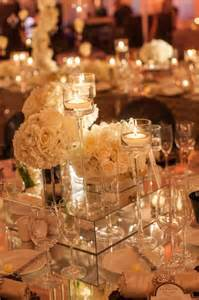 Mirror Wedding Centerpieces by Mirrored Box Centerpiece Where Can I Find These