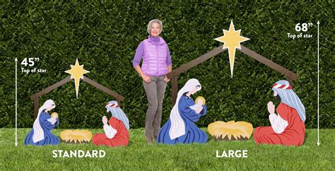 inexpensive nativity sets the holy family outdoor nativity store
