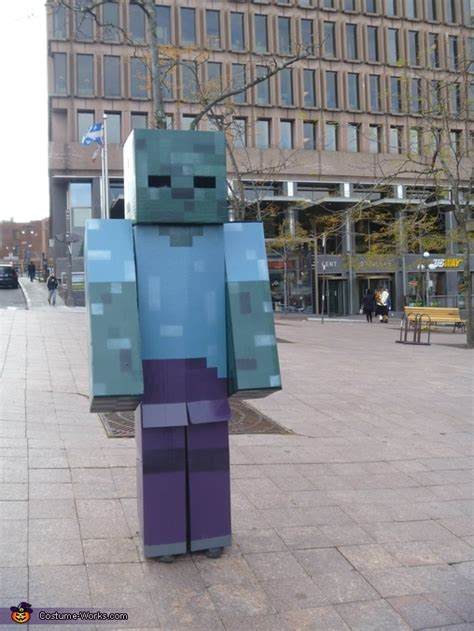 minecraft zombie costume photo